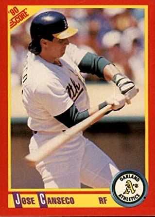 Discover the latest breaking news in the u.s. Amazon.com: 1990 Score Baseball Card #375 Jose Canseco Mint: Collectibles & Fine Art