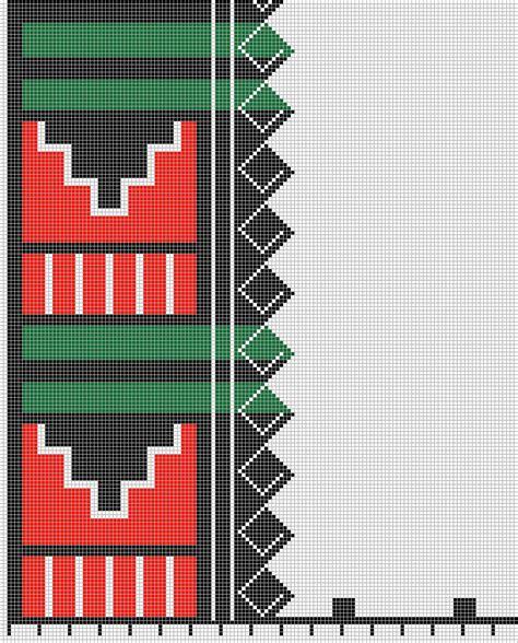 pueblo embroidery   pattern sar