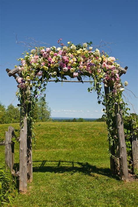 floral wedding arch aisle style floral wedding