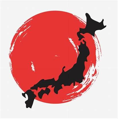 Clipart Japan Japanese Map Painting Transparent Pattern