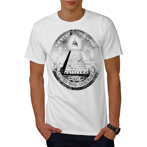 illuminati shirt wellcoda illuminati pyramid mens t shirt triangle graphic