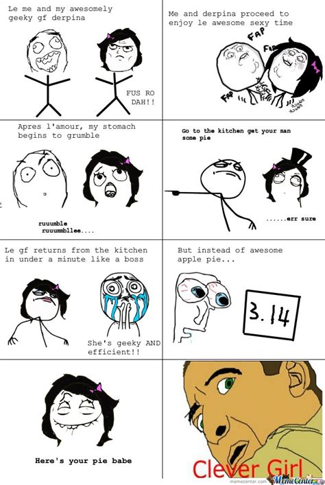 Le Me Meme - le me and my awesomely geeky gf derpina by serkan meme center