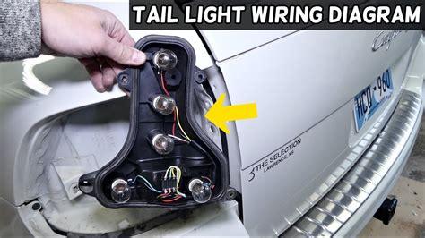 Porsche Cayenne Tail Light Wiring Diagram Youtube