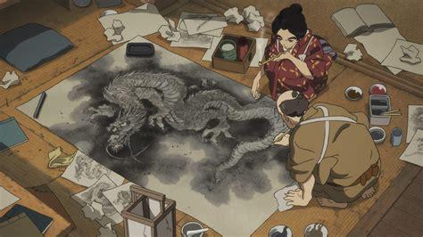 hokusai trailer gkids sets  release  october