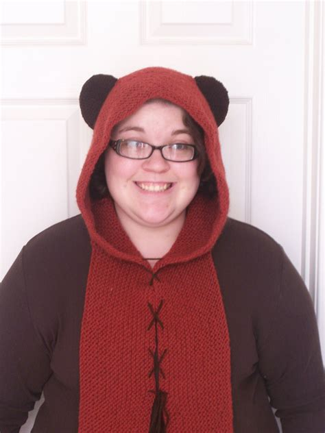 May the 4th Be With You! Ewok Hood Knitting Pattern ...
