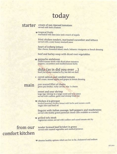 Deck Bahamas Dinner Menu by 37 Best Carnival Pride Cruise To Western Caribbean The