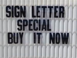 8 inch flexible outdoor portable marquee sign letters ebay With 8 inch outdoor sign letters