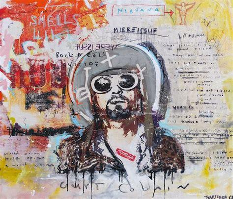 kurt cobain nick twaalfhoven neo pop art kunst moderne