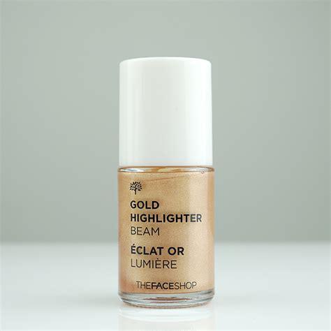 Harga The Shop Base Highlighter Beam the shop gold highlighter beam review jolse
