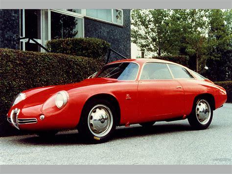 1961 Alfa Romeo Giulietta Sz 'codatronca'  Alfa Romeo