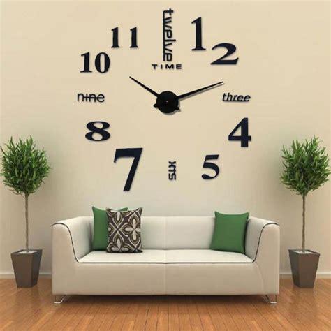 Jam Dinding Foto By Sarif Acrilyc jual jam jumbo besar jam dinding 3d diy wall