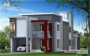 Home Design 1700 Sq Flat Roof Contemporary Home Design House Design Plans