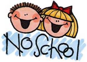 Image result for free no school clip art