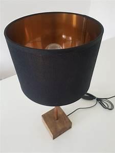 Deckenlampe Schwarz Kupfer : schwarz goldene tischlampe nachttischlampe mit ~ Lateststills.com Haus und Dekorationen