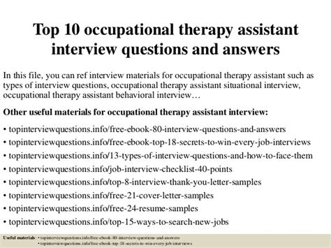accounting payable clerk job description top 10 occupational therapy assistant interview questions