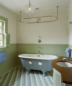 Salle de bain baignoire design en couleur 50 idees for Baignoire en couleur salle de bain design