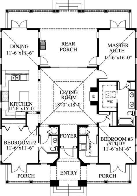 beach style house plans  square foot home  story  bedroom   bath garage stall