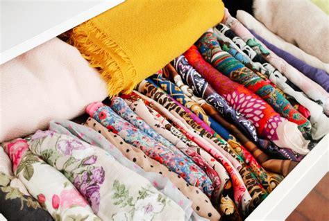 id 233 e et astuce de rangement pour foulards et 233 charpes