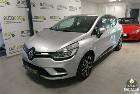 renault clio  tce  ch intens  km neuf autoeasy
