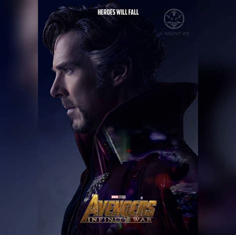 infinity war fanmade character posters   nerdy