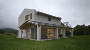 Casa In Legno Moderna A Due Piani  Con Immagini