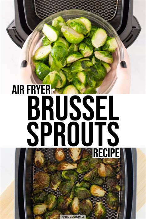 brussel fryer air sprouts recipe recipes sprout buffalo something