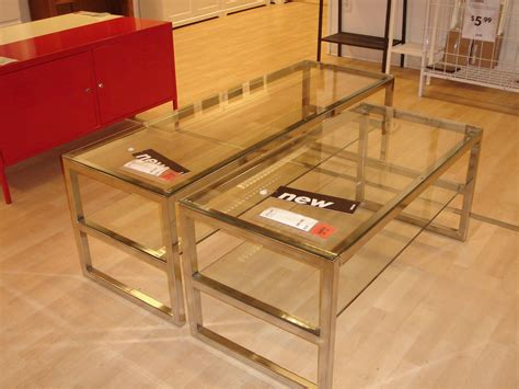 glass end tables ikea coffee table modern ikea glass coffee table accent