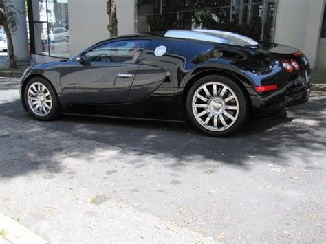 Sell Used 2008 Bugatti Veyron Black/gray In San Francisco