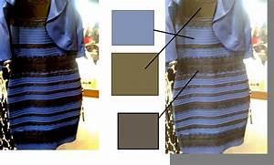 robe bleue ou blanche illusion la mode des robes de france With robe bleu et noir illusion