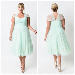 plus size tea length bridesmaid dresses 2016 mint green With plus size tea length dresses for wedding guest