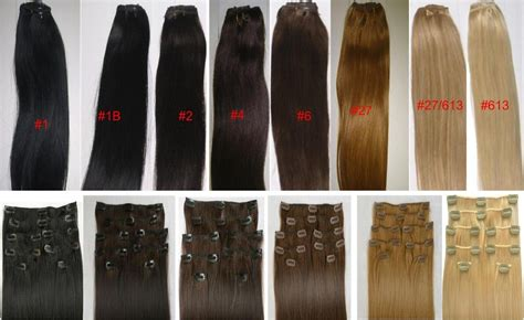 2 color hair reviews 18 clip in human hair extensions 10pcs 100g