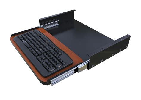 Under Desk Sliding Keyboard Tray Afcindustries Com