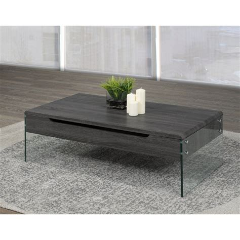 Shop our best selection of coffee tables with storage to reflect your style and inspire your home. Coffee Table with Lift Top & Storage, Grey (Metal - Coffee Tables - French Country - Rectangle ...