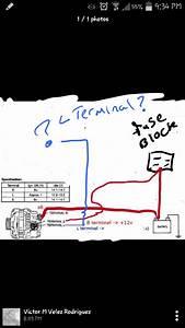 Ford 3 Wire Alternator Wiring