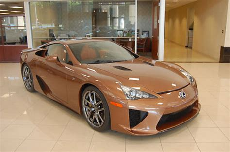copperbrownish  lexus lfa  sale  ebay