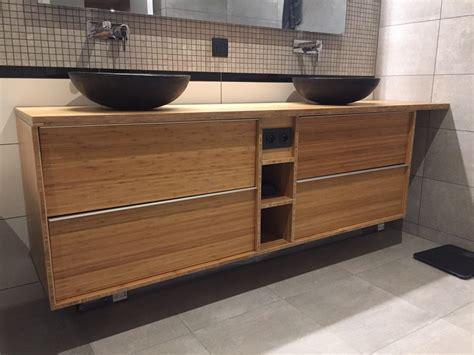 meuble de salle de bain avec meuble de cuisine enchanteur comment fabriquer un meuble de salle de bain