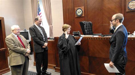 judge swears  son  indiana bar post tribune