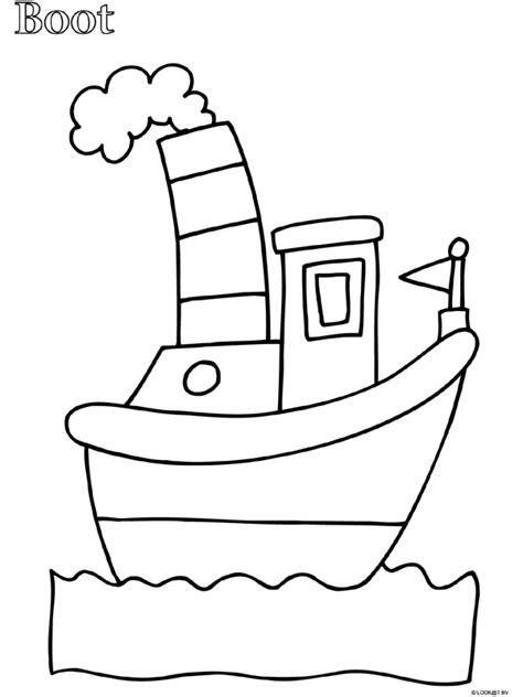 Kleurplaat Jongens Peuter by Kleurplaat Peuter Kleurplaat Boot Kleurplaten Nl