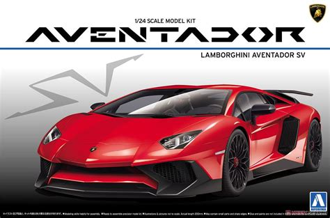 Lamborghini Aventador Lp750-4 Sv (model Car) Images List