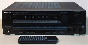 Rds Dolby Pro Logic Receiver 5 1 Kenwood  2x 140 W Stereo