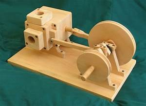 Wooden air engine 1