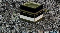 Muslim pilgrims gather at Mount Arafat for pinnacle of ...