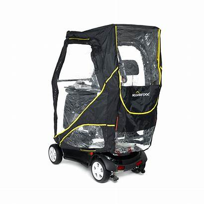 Canopy Scooterpac Scooter Mobility Fittings Universal Xl