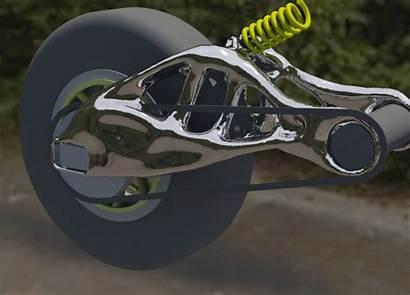 Autodesk Manufacturing Swingarm Software Generative Dreamcatcher Motorcycle
