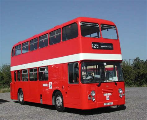 Red Ribble Buses Back For Vintage Ride During February