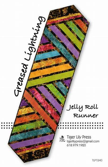 Runner Table Jelly Roll Pattern Runners Quilted
