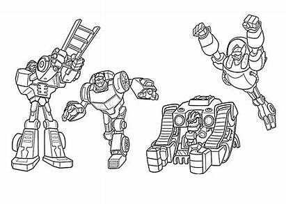Rescue Bots Coloring Pages Transformers Blaze Printable