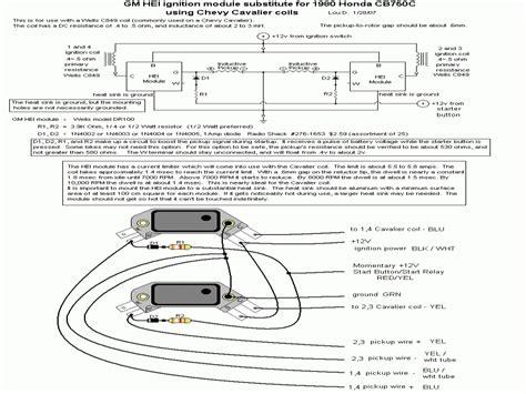 Wiring Diagram General Motor Hei by General Motors Hei Ignition Module For Early 1980 S Honda