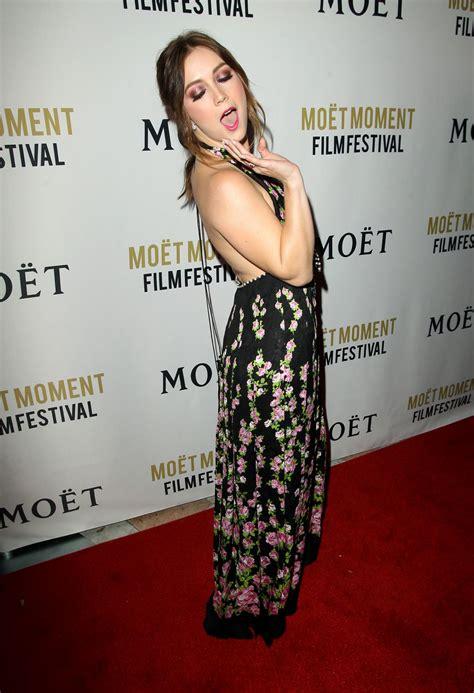 Billie Lourd Moet Moment Film Festival Golden Globes