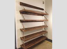 Reclaimed woodrope shelves For the Home Pinterest